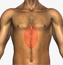 Tra i molti sintomi dell'ernia iatale vi è una sensazione di pesantezza all'imbocco dello stomaco